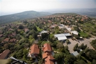 צילום אויר - מבט ממרכז היישוב מערבה